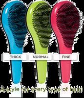 Different size bristles