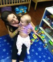 Gretchen, baby from my internship
