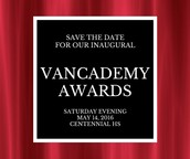 Vancademy Award Categories