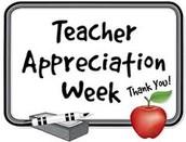 Teacher Appreciation Week Events