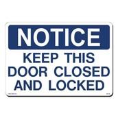 DOOR SAFETY REMINDERS