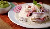 Carne Asada Chayote Quesadillas (Trescientos Cuarenta  pesos - 340 )