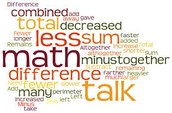 Start using a Math-Centric Vocabulary