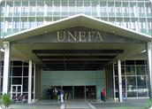 Fachada de la UNEFA. Caracas.