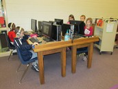 Library catalog workstations