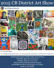 District Art Show May 29th - 31st