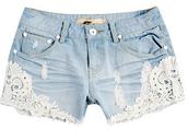 un short en jean