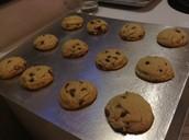 Freshly baked cookies!!