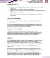 Director of Client Services & Business Development pg. 2