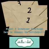 Only 3 envelopes available!