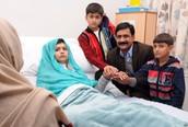 Malala In The Hospital
