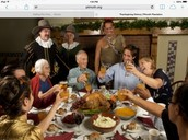 People who came to the first thanksgiving, By : Stella Stavrakos