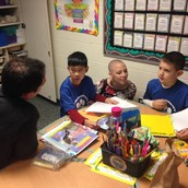 Students share goals and progress with Guests