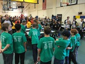 Competing in the First Lego League