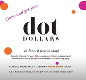 Dot Dollars coming July 8th!