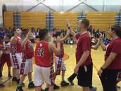 Staff vs. Student Basketball Game