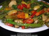 Stir fried mixed veggies