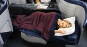 Sleepin in First Class