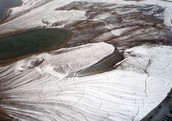 The tundras soil is called permafrost !