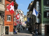 Le centre de la ville- Zurich, Suisse