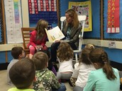 Thank you, Mrs. Grzymala, for being a Mystery Reader!