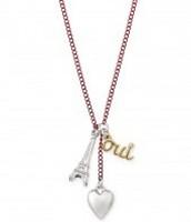 Girls Paris necklace