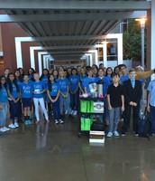 Prairie Vista Middle School Student Leadership Team
