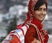 Malala Going To School