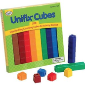 5. Students will use UniFix Cubes to create 5 different sets of equations and identify whether it is greater than, less than, or equal to.