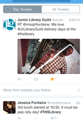 #THSLibrary