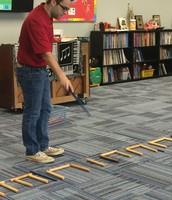 Music teacher casting a spell!