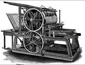 Gutenberg Printing Press...