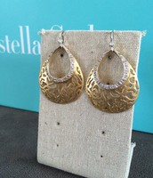 Filigree Teardrop Earrings -$15