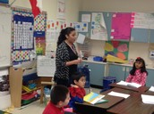 Assisting my mentor teacher