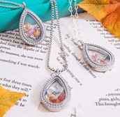 Classic Teardrop Locket!