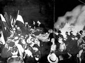 Nazi's and fellow HYA celebrating.