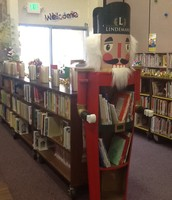 The Nutcracker displays our collection of winter holiday books.