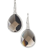 Amity Drop Earrings, Smoky