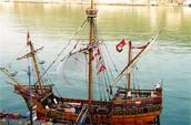 "A Modern Day Re-creation of ""The Mathew"" John Cabot's Ship"
