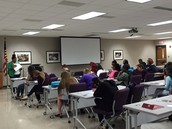IU Bloomington Admissions kicks off BDU's College Visits!