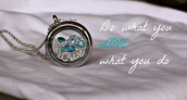 Love What You Do Locket