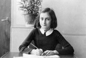 Select citation style  Anne Frank's (1929-1945) world famous diary charts two years of her life from 1942 to 1944, when her family were hiding in Amsterdam from German Nazis. The diary begins just before the family retreated into their 'Secret Annexe'.. Photography. Encyclopædia Britannica ImageQuest. Web. 3 Dec 2015.