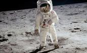 Astronaut on the moon !