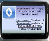 BryteWave app