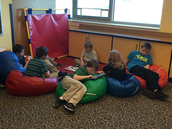 Mrs. Brown's class having reading time!