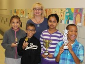 Accellerated Reader Winners for the 2nd Six Weeks