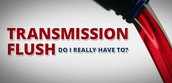 Changed your transmission fluid lately?