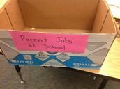 K/1 Parent Jobs Box