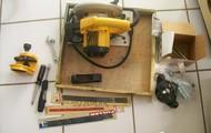 carpenters tools etc.