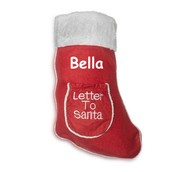 Letter to Santa Christmas Stockings